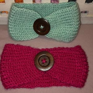 Other - Knit baby girl headbands